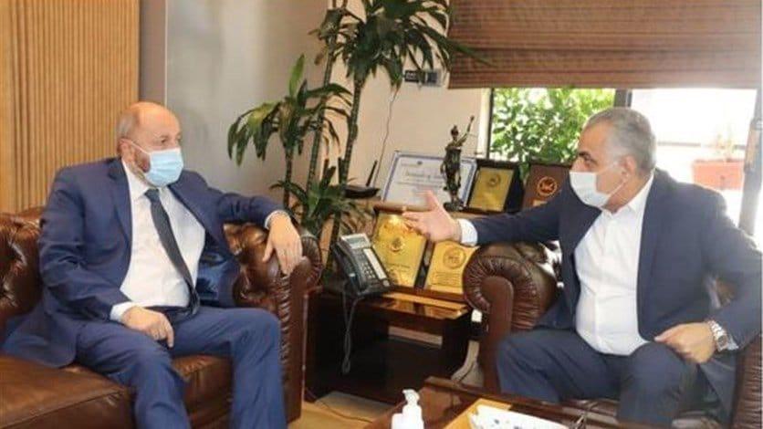 مؤتمر صحافي لكركي والأسمر عرضا فيه مخاطر ترشيد الدعم