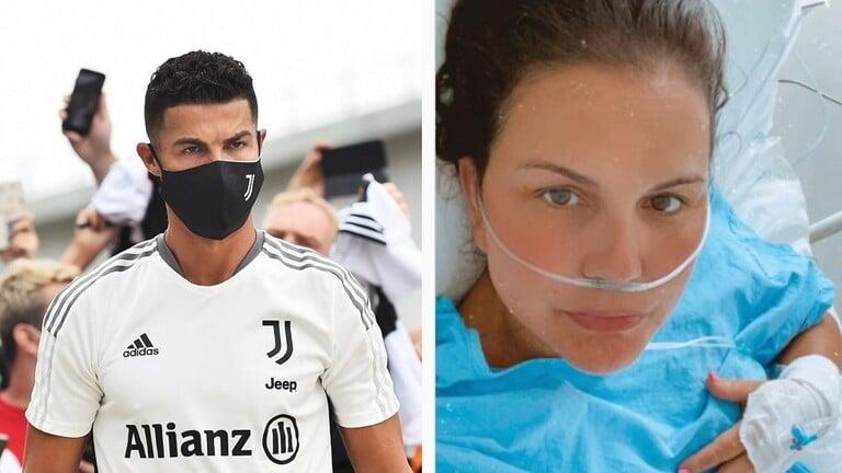 تدهور الحالة الصحية لكاتيا أفيرو شقيقة رونالدو