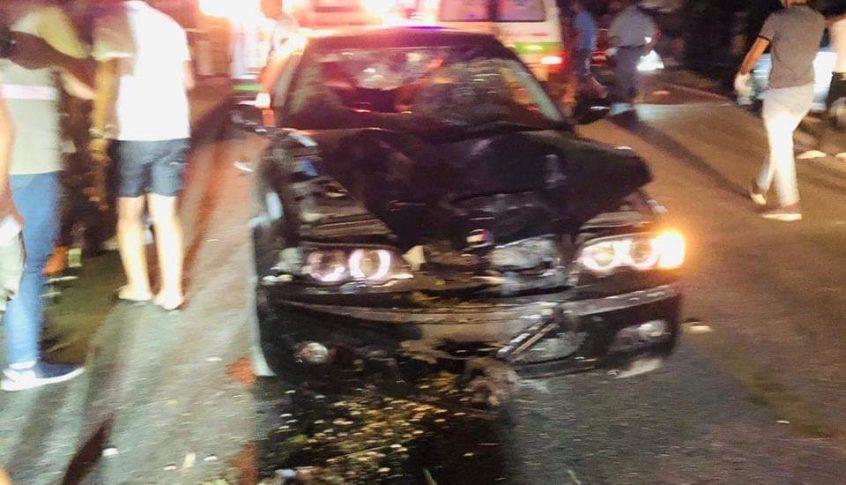 قتيل و5 جرحى إثر حادث سير على طريق عدلون