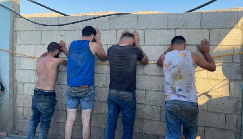 حراس حلبا اوقفوا عصابة سرقة من 4 لبنانيين!