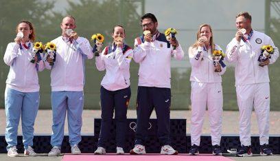 سان مارينو تتوج بميداليتها الثانية في تاريخ الأولمبياد