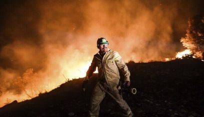 ارتفاع حصيلة قتلى حرائق الغابات في تركيا