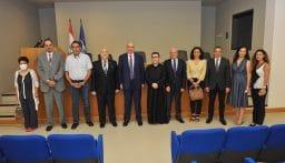 لحود أطلق من جامعة الروح القدس يوم جديد للعرق اللبناني