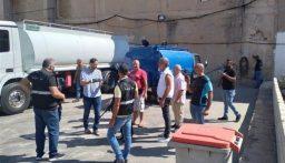 مصادرة كميات من المازوت في خزانات محطة محروقات في البحصاص