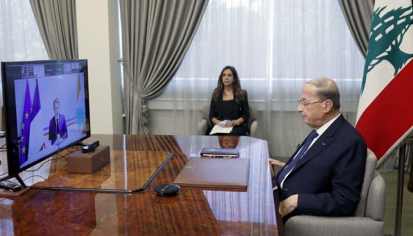 رئيس البنك الدولي والمديرة العامة لصندوق النقد في مؤتمر دعم لبنان: للمباشرة بالتدقيق المالي الجنائي
