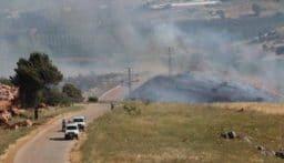 تجدُّد قصف العدو الإسرائيلي على طول الحدود مع لبنان وسماع دوي انفجارات