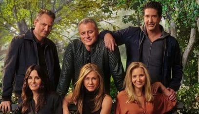 """أبطال """"Friends"""" يجتمعون من جديد لأهداف خيرية"""