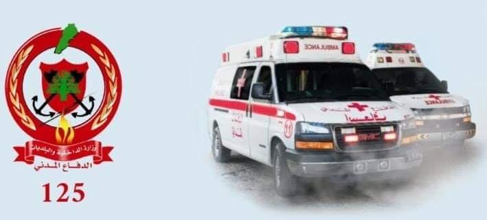 إسعاف مواطنين أصيبوا بضيق تنفس في عنايا
