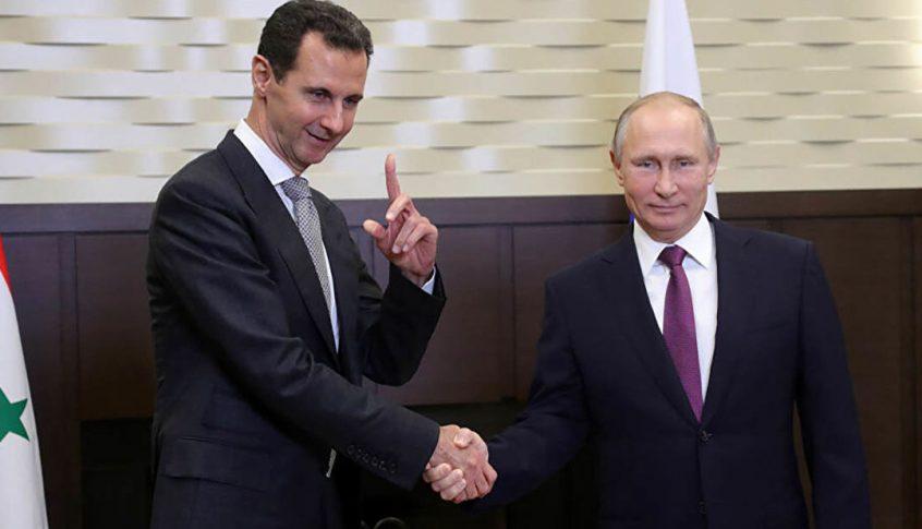 قمة بوتين – الأسد: إنهاء الاحتلالات والكانتونات والعقوبات