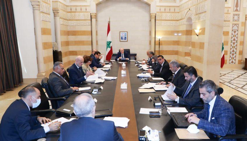 ميقاتي ترأس اجتماع اللجنة الوزارية المكلفة صوغ البيان الوزاري