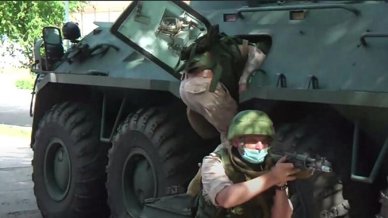 مناورات روسية لمكافحة الإرهاب في قرغيزستان