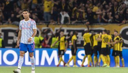 كيف علق رونالدو بعد خسارة مانشستر أمام يونغ بويز؟