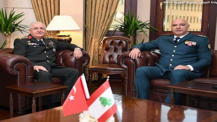 قائد الجيش زار تركيا وغولر أكد دعم بلاده للجيش اللبناني(بالصور)