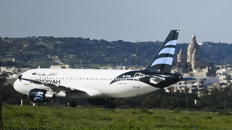الخطوط الليبية تستأنف رحلاتها إلى القاهرة