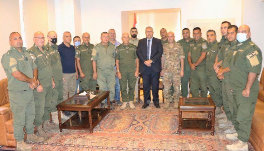 محافظ بيروت عين قائدين جديدين لفوجي الإطفاء والحرس
