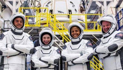 """بالفيديو: إقلاع صاروخ """"سبايس إكس"""" إلى الفضاء في رحلة تاريخية"""