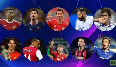 قائمة أفضل هدافي دوري أبطال أوروبا عبر التاريخ