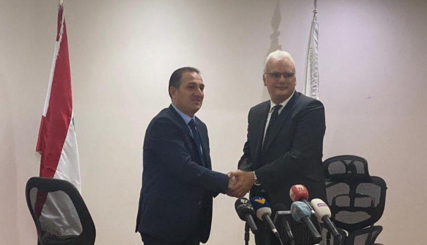 حواط سلم الاتصالات الى القرم: للمحافظة على منجم الذهب لمصلحة الشعب اللبناني