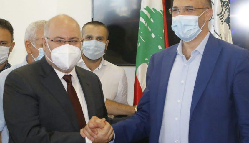 الأبيض في تسليم وتسلم وزارة الصحة: همنا الأول خدمة الشعب اللبناني وتحقيق مصلحته
