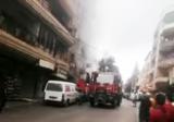الدفاع المدني اهمد حريقا داخل مطعم في سير الضنية