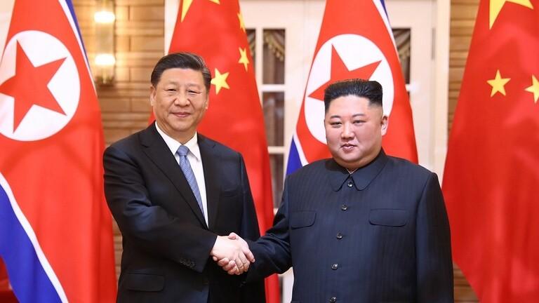 زعيم كوريا الشمالية يشكر الصين..
