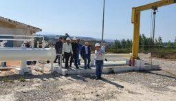 فريق سوري لبناني يبدأ الكشف على خط الغاز العربي
