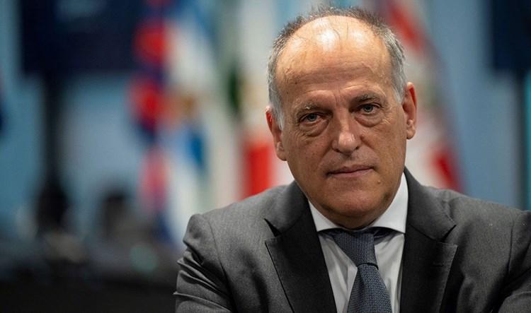 """رئيس """"الليغا"""" يدافع عن ريال مدريد"""