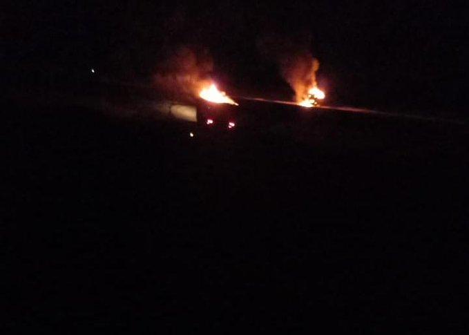 قصف يطال 3 مركبات للحشد الشعبي على الحدود العراقية السورية