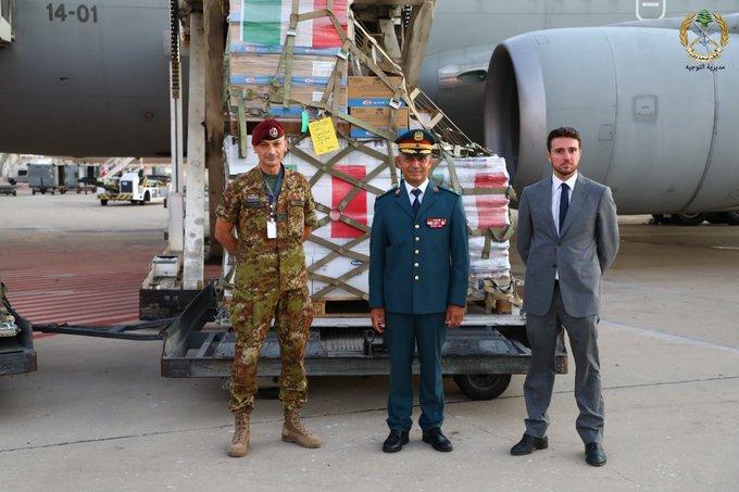 هبة غذائيّة من إيطاليا للجيش اللبناني