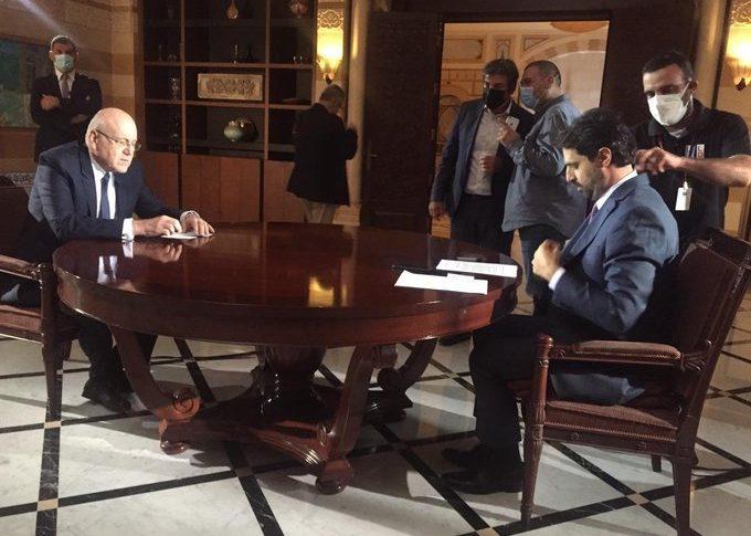 """""""الانتخابات النيابية ستحصل في آذار"""".. ميقاتي: لن أسمح أن يكون لبنان منصة ضد العرب"""