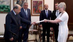 الرئيس عون تسلم أوراق اعتماد عدد من السفراء