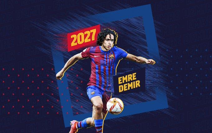 برشلونة يقتنص أصغر لاعب في الدوري التركي
