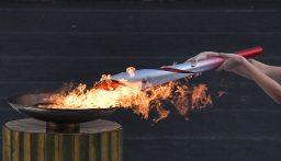 الشعلة الأولمبية للألعاب الشتوية 2022 تصل إلى الصين