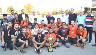 بطولة التلاقي العاشرة لأندية الشمال في طرابلس اختتمت