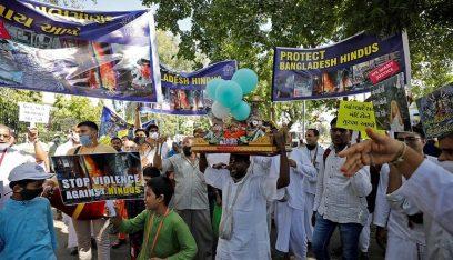 تظاهرات حاشدة في بنغلادش
