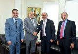 وزيرا الخارجية والتربية بحثا في تفعيل اتفاقيات مع إيطاليا وأوكرانيا وتونس