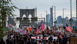 اميركا.. إغلاق جسر بروكلين باتجاه مانهاتن