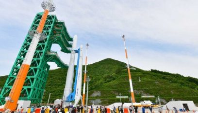 كوريا الجنوبية تطلق صاروخاً فضائياً محلي الصنع غداً