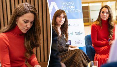 كيت ميدلتون تطلق حملة لمكافحة الإدمان