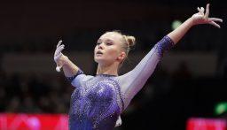 روسية تنهي هيمنة الولايات المتحدة على بطولة العالم للجمباز الفني