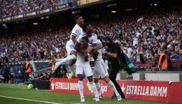 ريال مدريد يهزم غريمه برشلونة في عقر داره