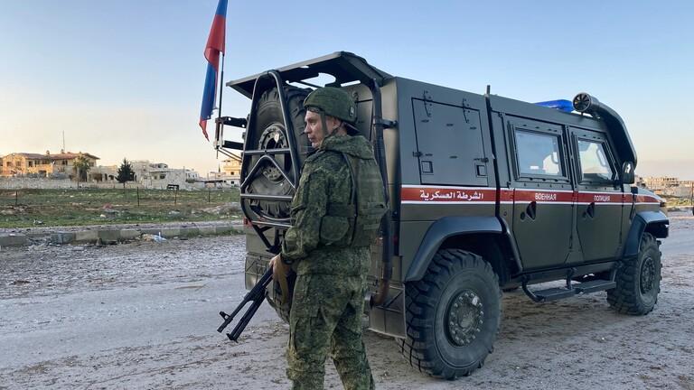 استهداف قافلة روسية بعبوة ناسفة في ريف درعا